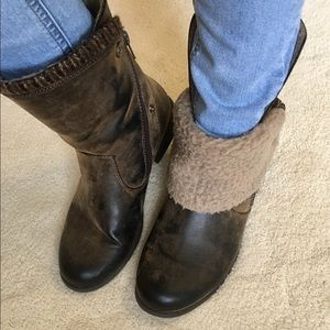 Just Fab size 7.5 boots